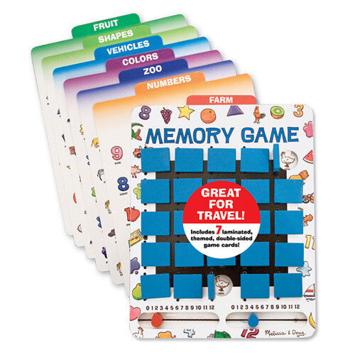 Melissa and Doug - Flip to Win Memory Game NEW
