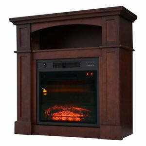 Electric Fireplace / Realistic Flame Remote Control fireplace