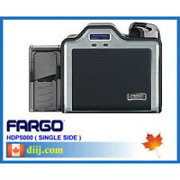 FARGO HDP5000 Single Side PVC Plastic Card ID Printer