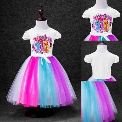 Beautiful My Little Pony Dress Costume Toddler Girls Rainbow Dash Girls Dresses](My Little Pony Girls Costume)