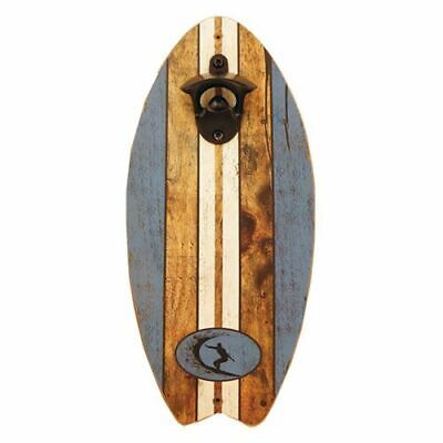 Surfboard Bottle Opener Wall Mount - Beer Bottle Opener - Perfect Gift Surfers!