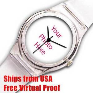 Photo Watch, Picture Watch, Custom Watch,  Assembly In US,  100% Guarantee