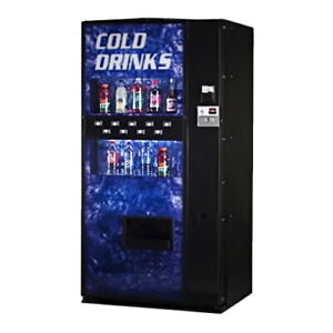 Cold beverage vending machine for sale