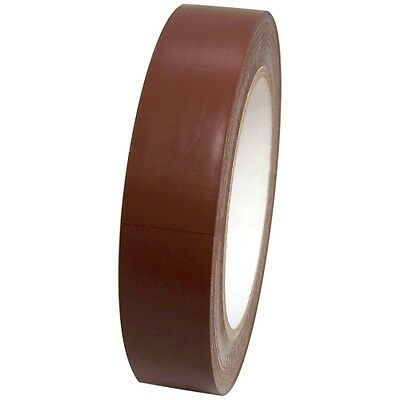 Dark Brown Vinyl Tape 1 Inch X 36 Yd. 1 Roll. Spvc