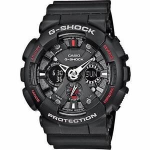 CASIO G-SHOCK Motorcycle Sports Black Watch GA-120-1A | BRAND NEW Calamvale Brisbane South West Preview