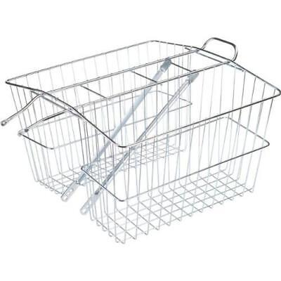 Wald 535 Rear Twin Bicycle Carrier Basket (18 x 7.5 x 12) New