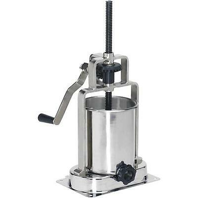 H7776 Grizzly 15 Lb. Sausage Stuffer-vertical