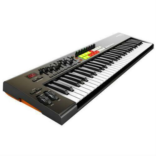 weighted midi keyboard ebay. Black Bedroom Furniture Sets. Home Design Ideas