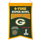 Green Bay Packers Super Bowl NFL Banners