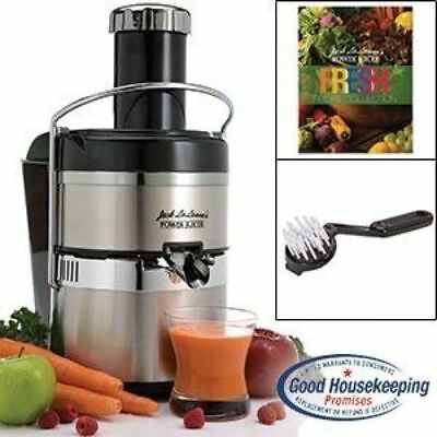 NJack Lalanne's JLSS Power Juicer Deluxe Stainless-Steel Electric Juicer