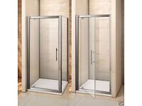 Brand New Shower enclosure, slim line tray and waste