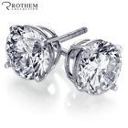 Screw Back (pierced) Filling Stud Fine Earrings