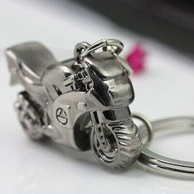 Metal Motorcycle Alloy Key Ring Keychain Creative Gift Sports Keyring Hot Collectibles