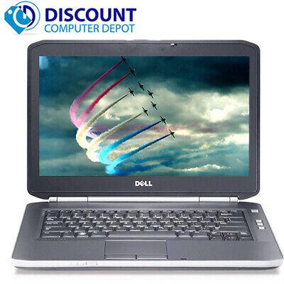 Laptop Windows - Dell Laptop i5 Computer Latitude PC Windows 10 Pro 2.5GHz 8GB 500GB HD HDMI Wifi