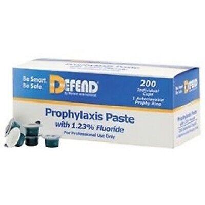 Defend Prophy Paste Medium Assorted Bx200 Pp1400