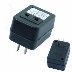 Step Up Voltage Converter Adapter - Reverse Converter (110V US to 220V US EU)