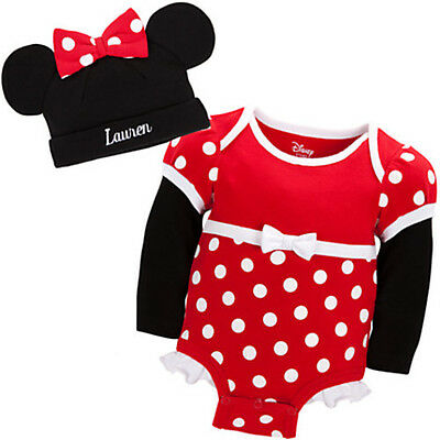 Authentic Disney Store baby Minnie mouse costume 6 - 12 months 100% organic - Authentic Minnie Mouse Costume