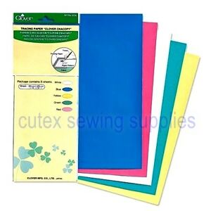 Clover Chacopy 5-Color Tracing Paper 12