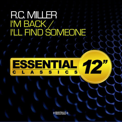 R.C. Miller - I'm Back / I'll Find Someone [New CD] Extended Play, Manufactured