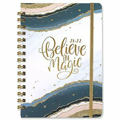 2021-2022 Planner Academic Weekly Monthly Planner With Tabs 6.3x8.4 Hardcover