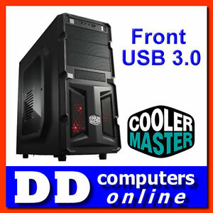 Cooler-Master-K350-Gaming-Case-ATX-Mid-Tower-Front-USB-3-0-PC-Chassis-NO-PSU