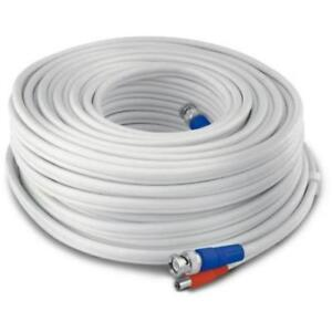 BNC & DC Power Security Camera Cable 75 Feet
