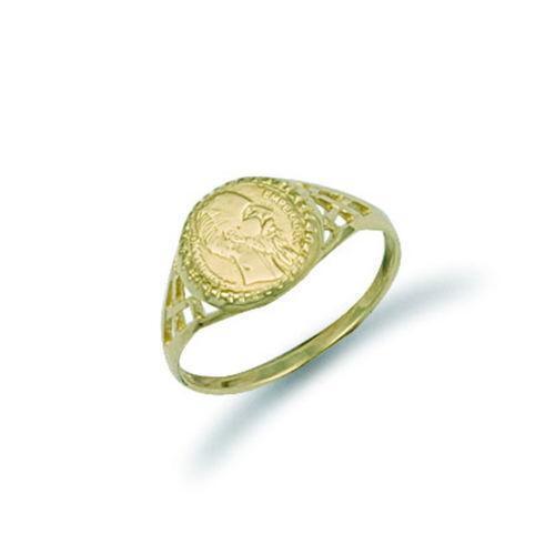 gold peso ring ebay