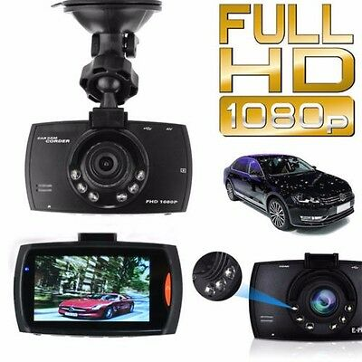 Full HD 1080P Car DVR Camera Dash Video 2.7'' LCD G-sensor Night Vision