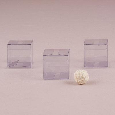 Transparent Acetate Wedding Favor Box DIY Wedding Favor Set of 20 Weddingstar