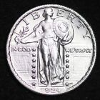 Uncirculated Uncertified 1924 Year Standing Liberty US Quarters (1916-1930)
