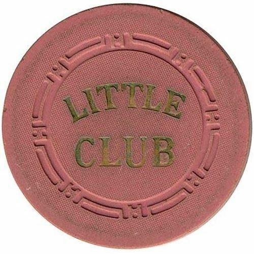 Little Club Casino Las Vegas NV 25 Cent Chip 1946