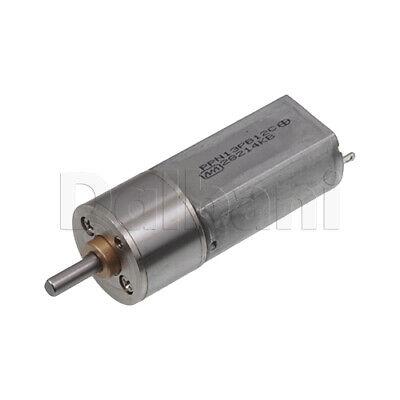 Dc Gear Motor High Torque 16ga 12v 1000rpm 050 For Diy Robotics Arduino
