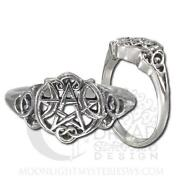 Sterling Silver Wiccan Ring