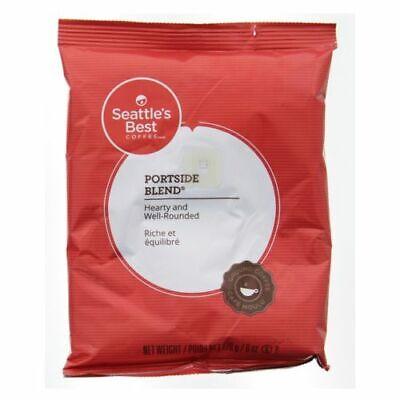 Lot of 10 Bags Seattle's Best Portside Blend Coffee, 6 oz /