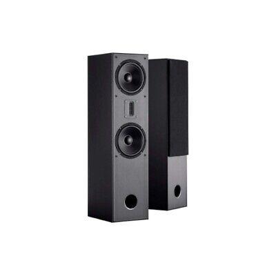 Monoprice MP-T65RT Tower-Heimkino-Lautsprecher (Paar) – schwarz, mit zwei 16,5-c