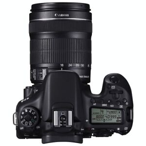 CANON EOS 70D(W) +Lens 18-135 IS 20.2 MP LIKE NEW