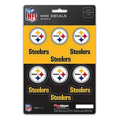 Pittsburgh Steelers Mini Decals Stickers 12 Pack FAST USA SHIPPER - Steelers Stickers