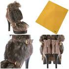 Platform Fur Booties for Women