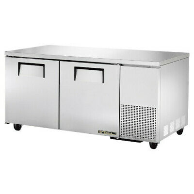 True Tuc-67-hc Two Section Side Mount Undercounter Refrigerator