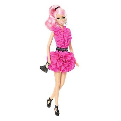 New Pinktastic Barbie Doll - Barbie with Pink Hair - Free Shipping! on Rummage