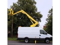 OPERATED PLATFORM OPERATED HIRE CHERRY PICKER