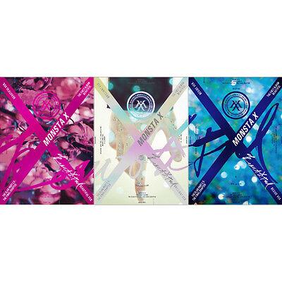 MONSTA X-[BEAUTIFUL] 1st Album Random+Poster+Post Photo+Card+etc+Gift+Tracking