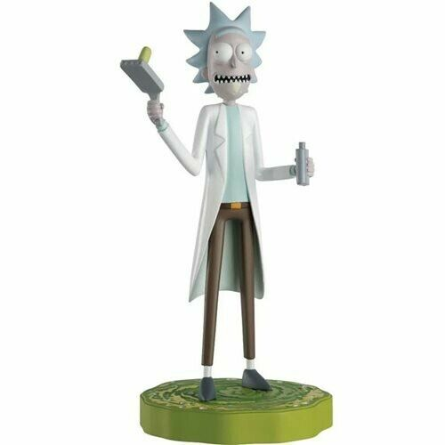 Rick and Morty Figurine Collection #1 Rick Sanchez Hero Collector 5 inch