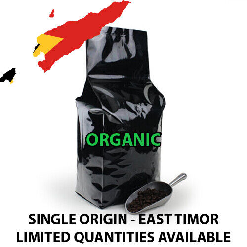 5, 10 LB SINGLE ORIGIN EAST TIMOR FRESH ROASTED COFFEE LIMITED SUPPLY - ORGANIC