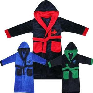 e0df639f4a Boys Hooded Dressing Gowns
