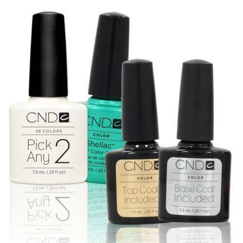 cnd shellac polish ebay. Black Bedroom Furniture Sets. Home Design Ideas