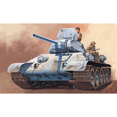 ITALERI T34/76 Russian Tank 7008 1:72 Military Vehicle Model Kit