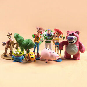 9 PCS MINI TOY STORY CHARACTERS DISPLAY FIGURES KID GIRL TOY CAKE TOPPERS DECOR