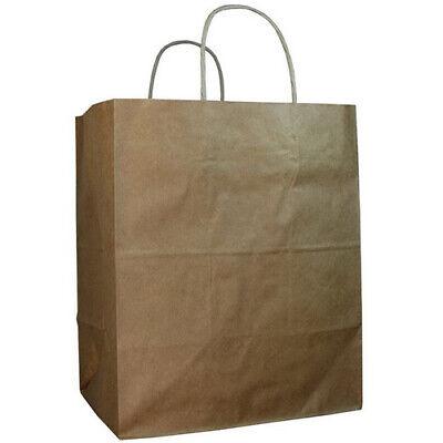 Duro Id 87490 Bistro Bag 60 100 Recycled Natural Kraft 250pk 10 X 6.75 X 12