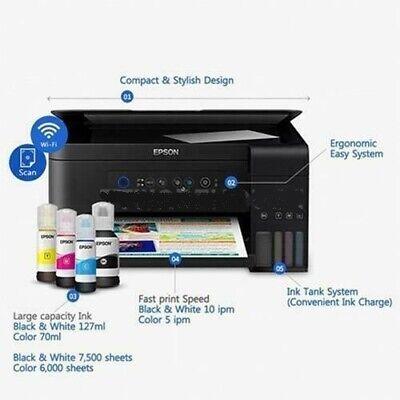 - NEW EPSON L4150 EcoTank All-in-One Printer  + Inkset